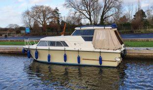 Birchwood 25 - Cornish Lady - 4 Berth 4 Berth Inland Cruiser
