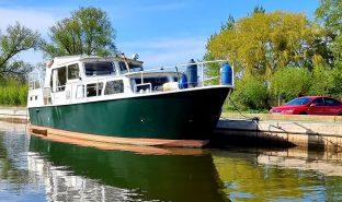 Dutch Steel Cruiser - Seafire - 6 Berth Steel Boat