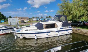 Aquafibre 32 - From a distance  - 6 Berth Inland Cruiser